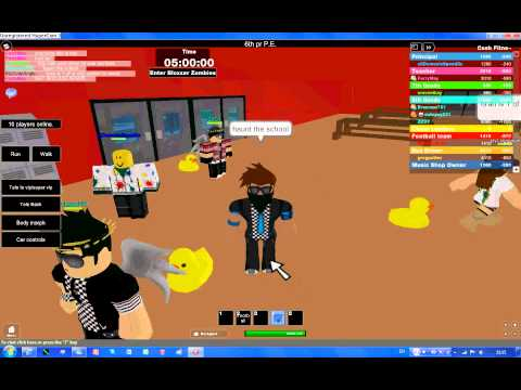 Roblox School Escape! Part 2
