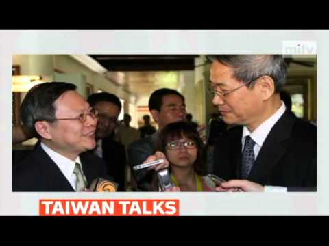 mitv - China and Taiwan to hold highest-level talks in 65 years
