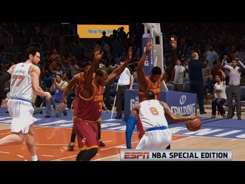 NBA Live 14 PS4 - Cleveland Cavaliers vs New York Knicks - 2nd Qrt - HD