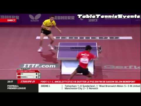 Zhang Jike Vs Xu Xin: 1/2 Final [WTTC Paris 2013]