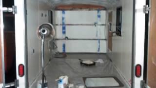 Cargo Camper Conversion Build