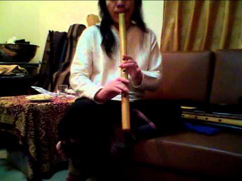 ขลุ่ยผิว Shakuhachi Flute 2.0