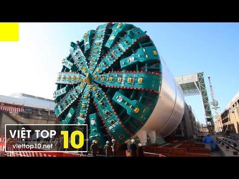 Top 15 Cỗ Máy Siêu Khổng Lồ Lớn Nhất Thế Giới