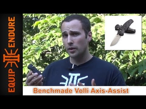 Benchmade Volli Axis Lock Forward Assist Pocket Knife Review, by Equip 2 Endure