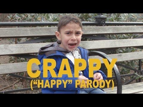 """CRAPPY - Pharrell """"Happy"""" Parody"""