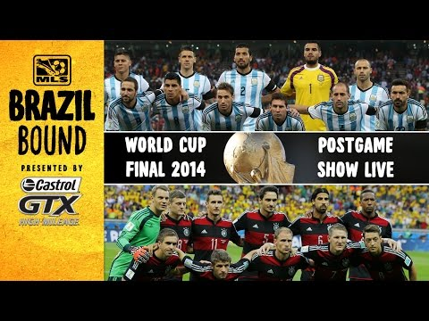 LIVE: Germany vs. Argentina World Cup Final Postgame Show | Brazil Bound