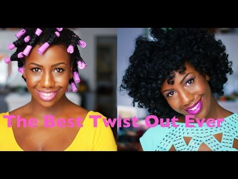 The Best Twist Out Ever!