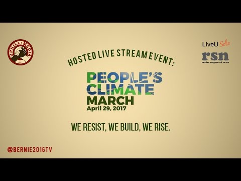 Live Stream People's Climate March April 29, 2017