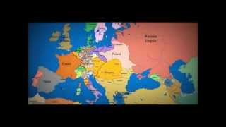 Epic Time-Lapse Of Europe-HistoricalAtlas.com