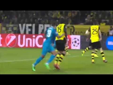 Salomón Rondón Goal ~ Borussia Dortmund vs Zenit 1-2 (Champions League) ~ 19/03/2014