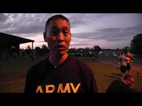 6th Regiment, Advanced Camp 2017 | Army Physical Fitness Test