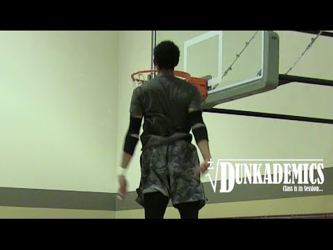 Jonathan Clark Gets ENTIRE HEAD Above The Rim! INSANE Hops!