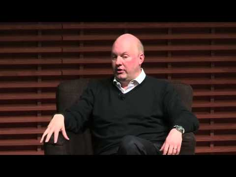 Marc Andreessen: Three Industry Sectors Software Will Transform