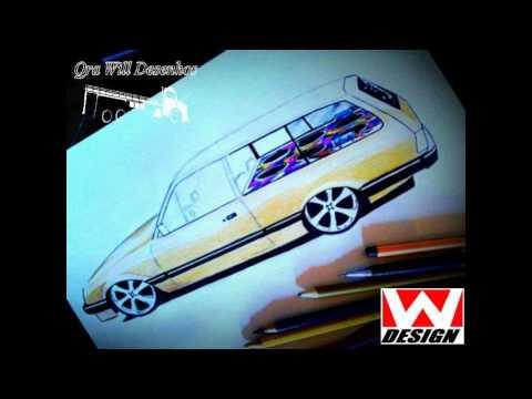 Desenhos de carros (wesley rubio)