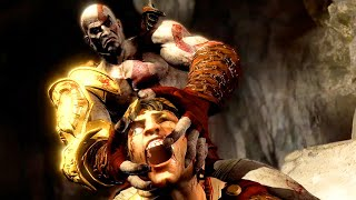 God Of War 3 Kratos Destroy Hera Helios And Hephaestus