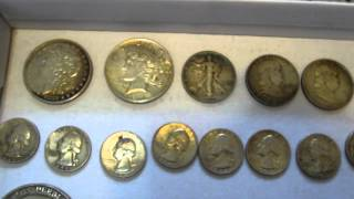 Garage Sale Picking Haul: Coins, Silver And Gold Scrap