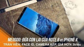 Đứa con lai của Note 8 & iPhone X: Hơn 3 triệu có Face ID, Camera kép