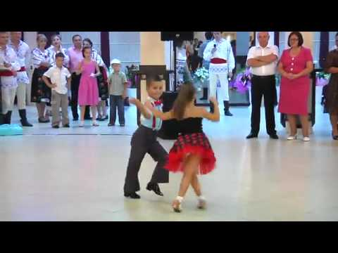 Young Kids Rock Ballroom Dancing [HQ]