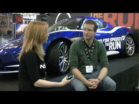 Интервью с продюсером NFS The Run на Игромире 2011