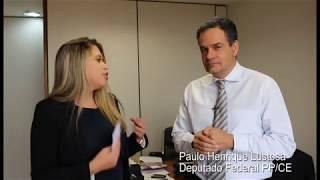 #EntrevistaProgressista - Dep.Federal Paulo Henrique Lustosa (CE)