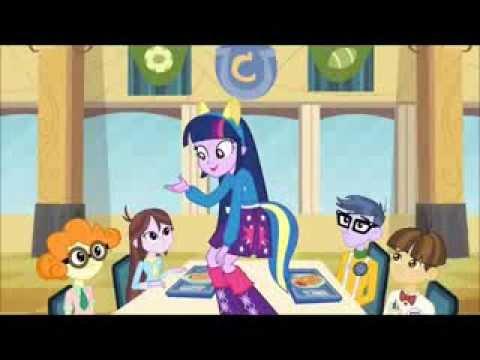 Equestria Girls - Ajudar a Twilight a Conseguir a Coroa (Música da Lanchonete) (Letra na descrição)