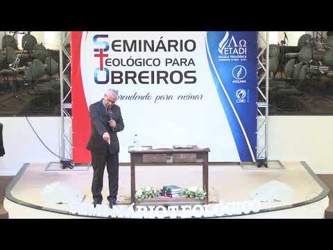 Seminário teológico para obreiros - Pr. Joel Paulino - Palestra 06 - 23 09 2018