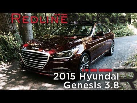 Redline Review: 2015 Hyundai Genesis 3.8