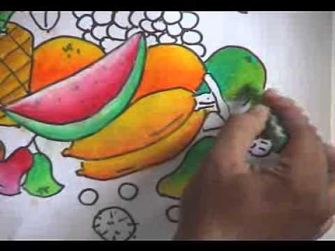 Melukis Buah buahan