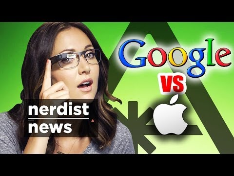 Did GOOGLE just Destroy APPLE? Google I/O 2014 (Nerdist News w/ Jessica Chobot)