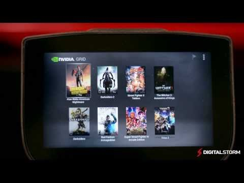 NVIDIA GRID Cloud Gaming Beta with NVIDIA SHIELD Overview & Quick look