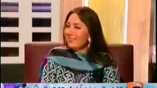 Drank sharmila farooqi singing in Geo TV show is this islamic country
