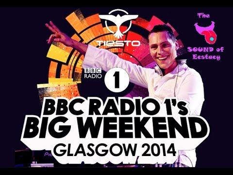 BBC Radio 1's Big Weekend 2014: Day 1: Tiesto