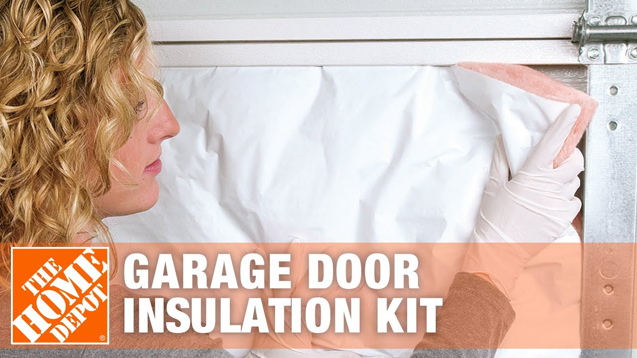 How To Install Owens Corning Garage Door Insulation Kit