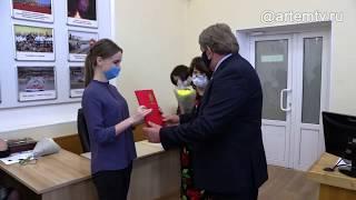 Предприниматели Артёма принимали поздравления с профессиональным праздником
