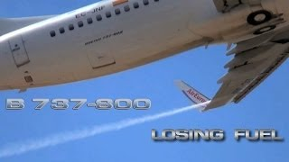 B737  Losing Fuel while Take Off