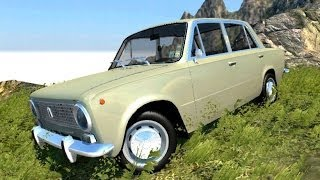 BeamNG Mod : VAZ 2101 (Crash Test)