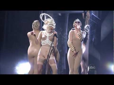 Lady Gaga - American Music Awards Bad Romance / Speechless