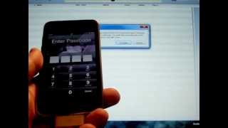 PASSWORD LOCKED IPod Touch How To RESTORE A Disabled