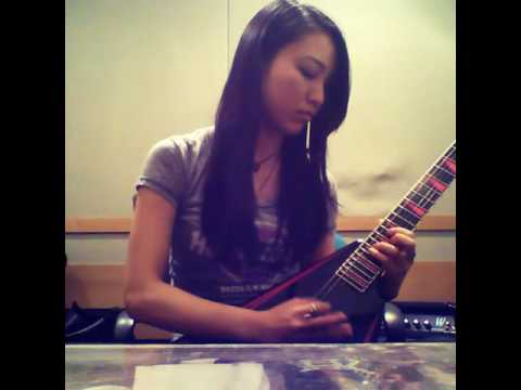 Children Of Bodom Done With Everything, De For Nothng solo cover by Saaya part2