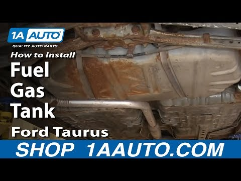 How To Install Replace Fuel Gas Tank 2000-07 Ford Taurus Mercury Sable