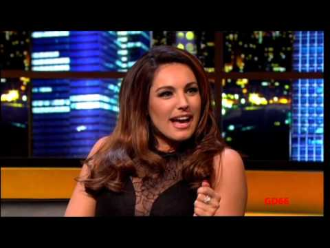 Kelly Brook on The Jonathan Ross Show (18th Aug 2012)