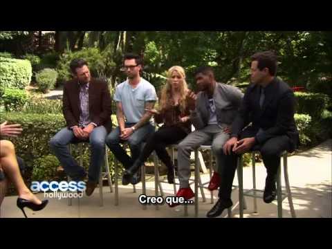 Adam Levine celoso de la relacion entre Blake Shelton & Usher | The Voice (SUBTITULADO ESPAÑOL)