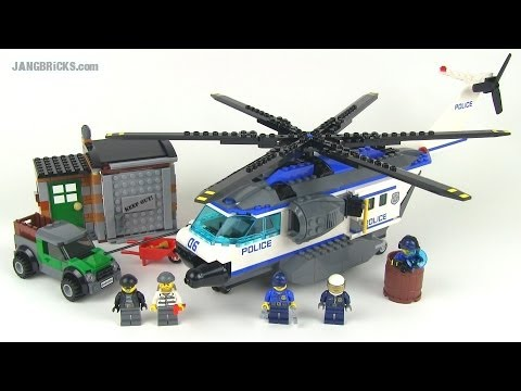 lego city helicopter surveillance 60046 with Watch on Lego City 60046 Lintervention De Lhelicoptere En Foret likewise Watch further B005KIQ18M as well 390748249620 together with Lego City The First Pics Of The 2014 Sets.