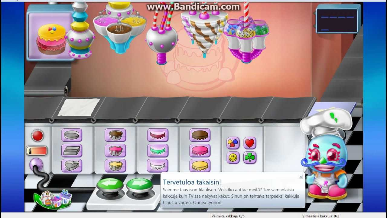 Crazy Cakes Game Free Online