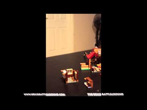 Lego Set #4840 The Burrows - Brick Battleground Timelapse Build Part 2