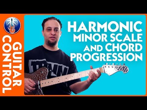 Harmonic Minor Scale and Harmonic Minor Chord Progression