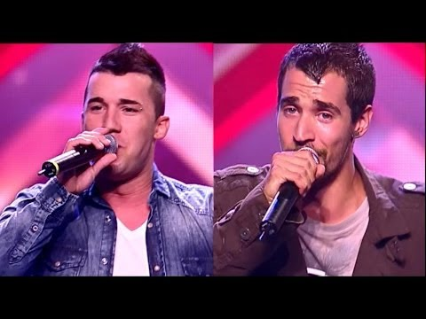 Uroš i Vladimir (Unchain My Heart - Joe Cocker) audicija - X Factor Adria - Sezona 1