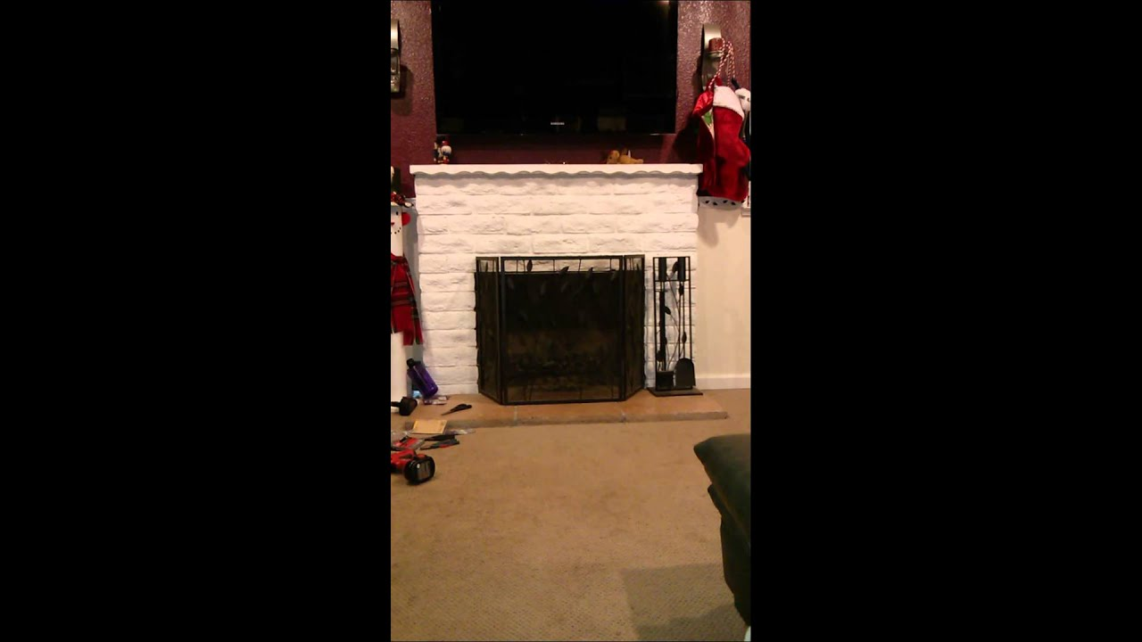 Child Proofing The Fireplace YouTube