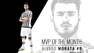 A magical March for MVP Morata - Alvaro Morata, MVP di marzo