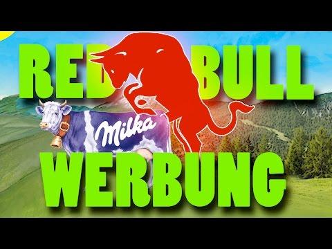 Red Bull Milka lustige Werbung